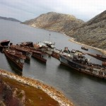 Russian naval graveyard photos