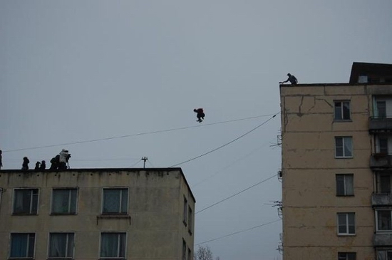 Saint-Petersburg city parkour