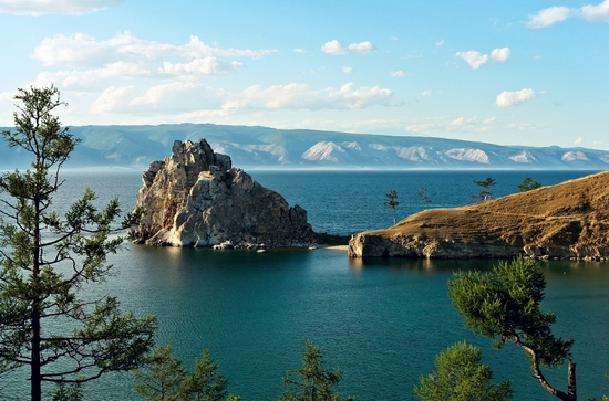 Seven wonders of Russia - Baikal lake