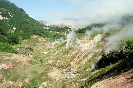 Seven wonders of Russia - Geysers valley
