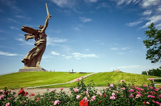 Seven wonders of Russia - Mamaev kurgan