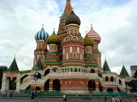 Seven wonders of Russia - St Basil cathedral
