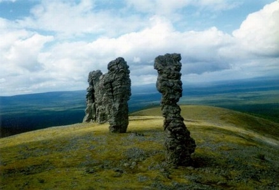 Seven wonders of Russia - Weathering pillars