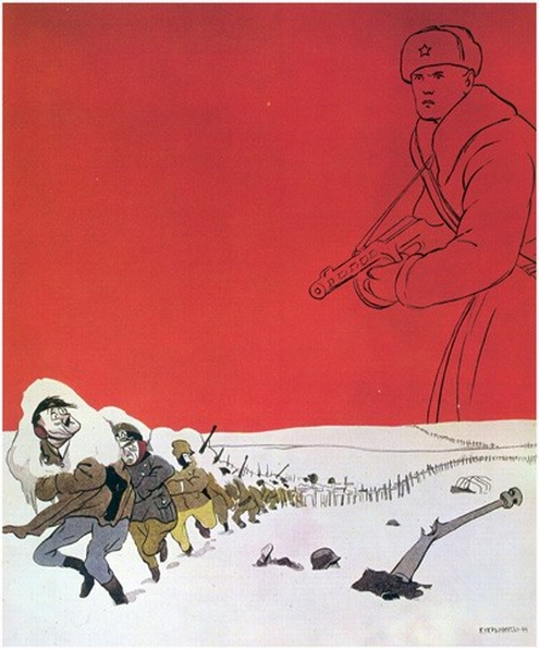 Soviet World War 2 propaganda poster 2