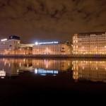 Moscow city underworld river adventure