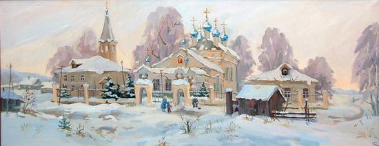 Orthodox believers Christmas