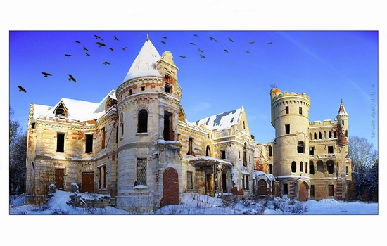 Russian hussar mansion