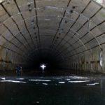 Russian submarines abandoned base photos
