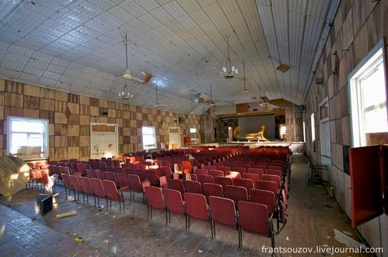 Abandoned summer camp for kids