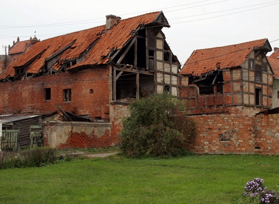 Kaliningrad oblast architecture remains
