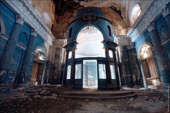 Moskovskaya oblast church view