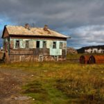 Abandoned settlement of scientists Dalniye Zelentsy photos