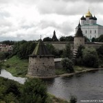 Pskov city ancient kremlin photos