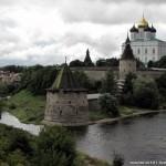 Pskov city ancient kremlin photos