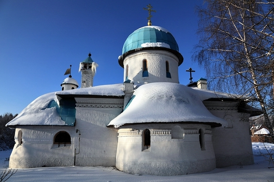 Russian church modern style