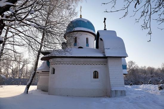 Russian church modern style