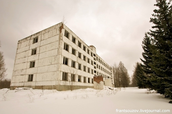 Russian rocket forces abandoned base