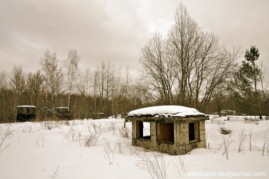 Russian rocket forces abandoned base