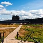 Russian submarine museum excursion photos