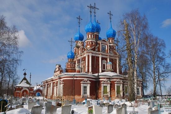 Vologda oblast small town sceneries
