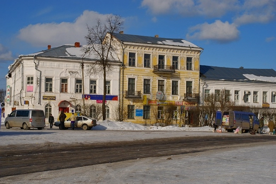 The beautiful views of small Russian town of Vologda oblast · Russia travel blog