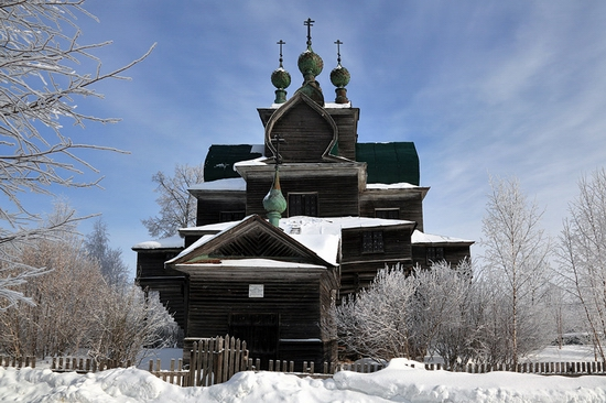 Vologda oblast Uspenskaya church