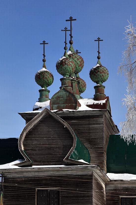 Vologda oblast Uspenskaya church