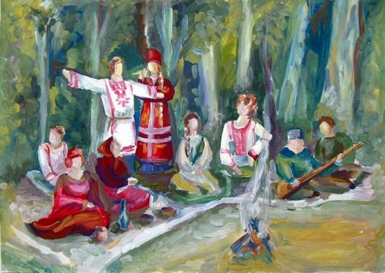 Anya Boltova, age 17 Detskaya shkola iskusstv Karasuk Russia