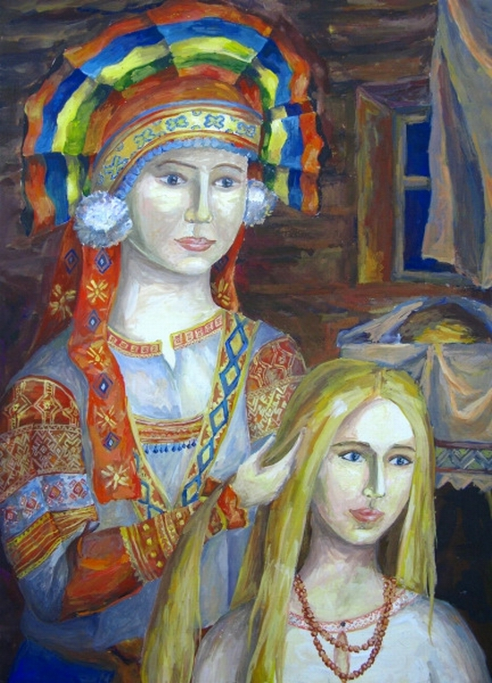 Julia Hantel, age 15 Children art studio Rostok Ob Russia