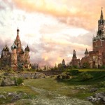 The possible future of Red Square, Moscow pictures