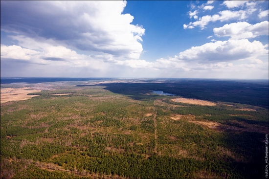 Moscow oblast, Russia 270 meters tower view