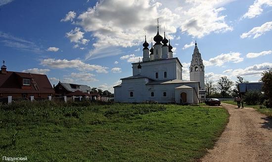 Suzdal city Russia Aleksandrovsky monastery