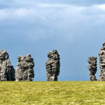 The weathering pillars of Komi Republic photos