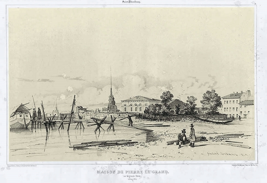 Russia, year 1837 view