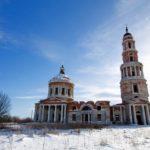 Ryazan oblast beautiful abandoned cathedral photos
