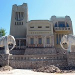 Samara city mansion with elephants photos