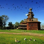 Suzdal city museum of wooden architecture photos
