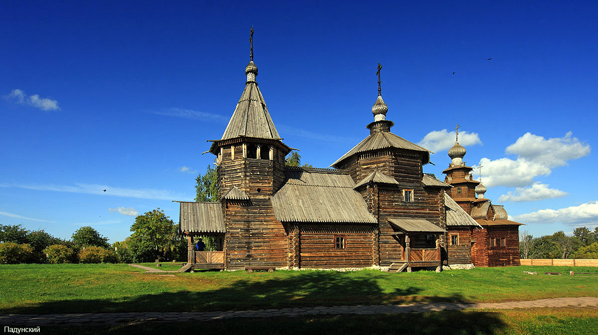 Suzdal - Museum of Wooden Architecture or the Ghost of the Dmitrievsky Pechora Monastery 22