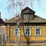 Tutaev town beautiful architecture views