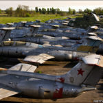 Abandoned Russian airbase photos