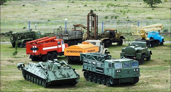 AvtoVAZ Russia machinery museum view