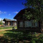 The views of classical Russian village
