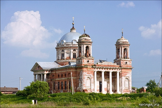 Podmoskovye Russia church view