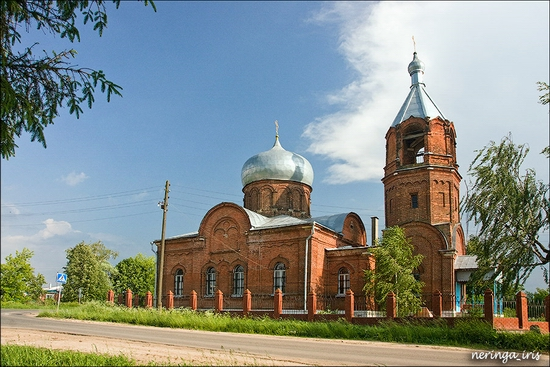Podmoskovye Russia church view