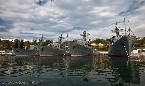 Russian Black Sea Navy view