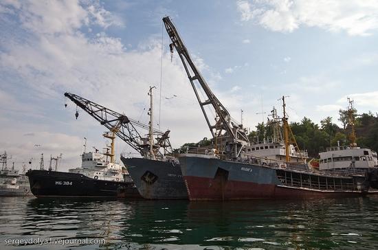 Russian Black Sea Navy view