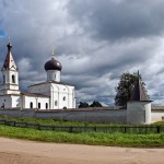Ancient monastery of Tver region land