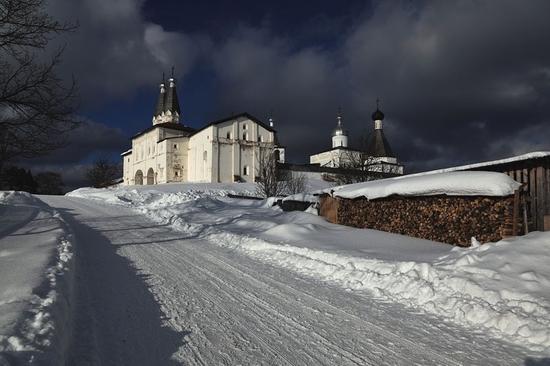 Ferapontov monastery of Vologda oblast, Russia view