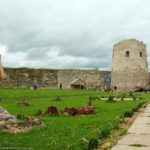 The fortress of ancient Russian town Izborsk