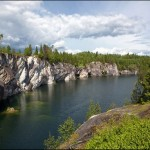The beauty of Karelia Republic nature